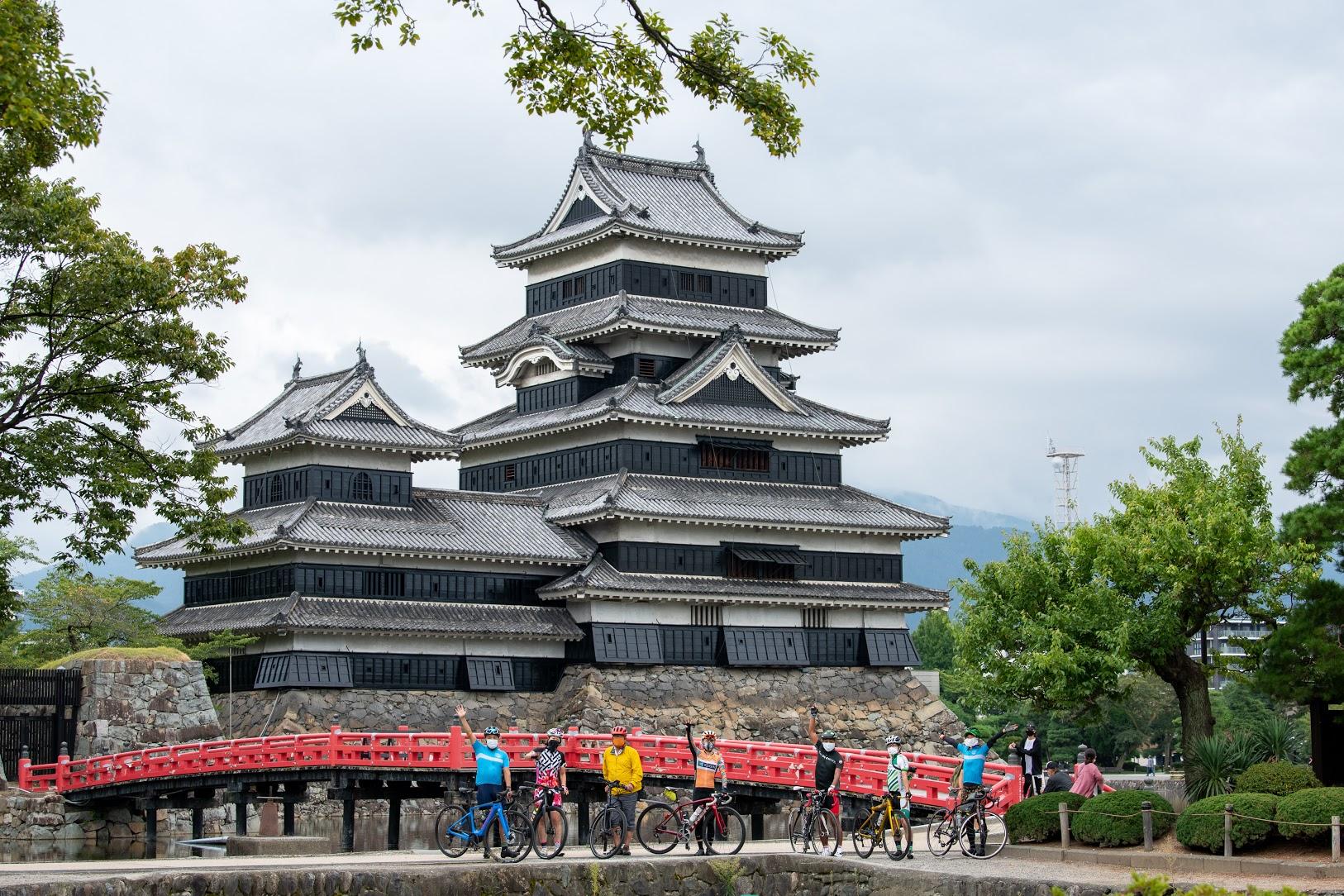 松本城へ到着