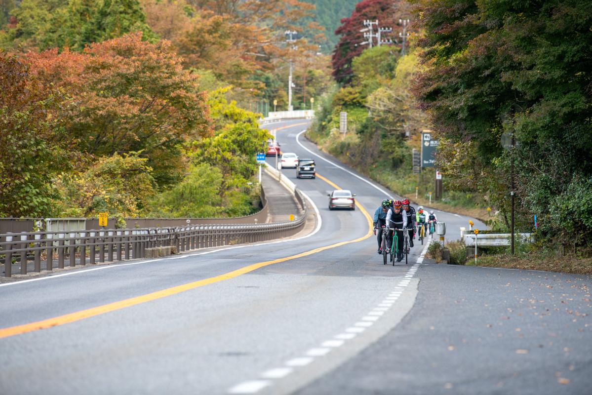 早朝ということもあってか、意外に国道も走りやすい。