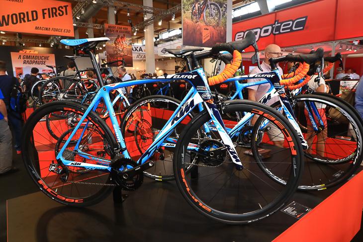 2017 new ktm bike industries revelator colors paint schemes shimano sram groupset