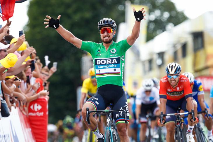 獲得標高差3,000mのブルターニュ丘陵コース 登りスプリントでサガンが圧勝 – ツール・ド・フランス2018第5ステージ | cyclowired