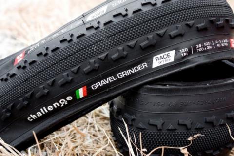 Challenge GRAVEL GRINDER PRO 260 TPI Bike Tire Clincher BLACK 700x36c 2 TIRES